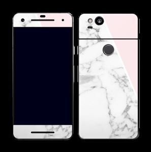 Marmor og rosa Skin Pixel 2