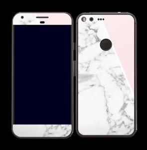 Skin marbre & rose Skin Pixel XL