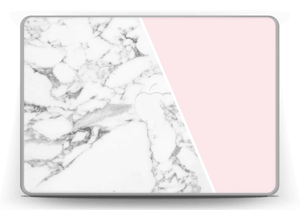 Marble and Pink Skin MacBook Pro 13