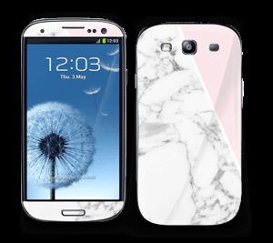 Marmor og rosa Skin Galaxy S3