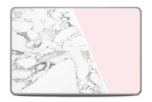 Marble and Pink Skin MacBook Pro 17