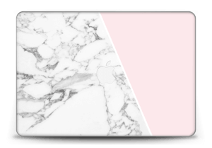 Marble and Pink Skin MacBook Pro Retina 15