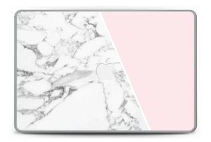 Marble and Pink Skin MacBook Pro 15