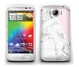 White Marble and pink pastell Skin Sensation XL
