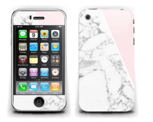 Marmor og rosa Skin IPhone 3G/3GS