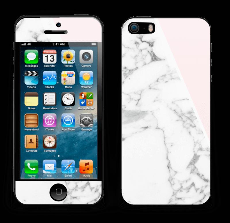 Marmor og rosa Skin IPhone 5s