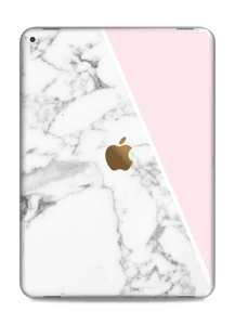 Marble and Pink Skin IPad Pro 12.9