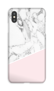 Marble with a touch of white case IPhone XS Max