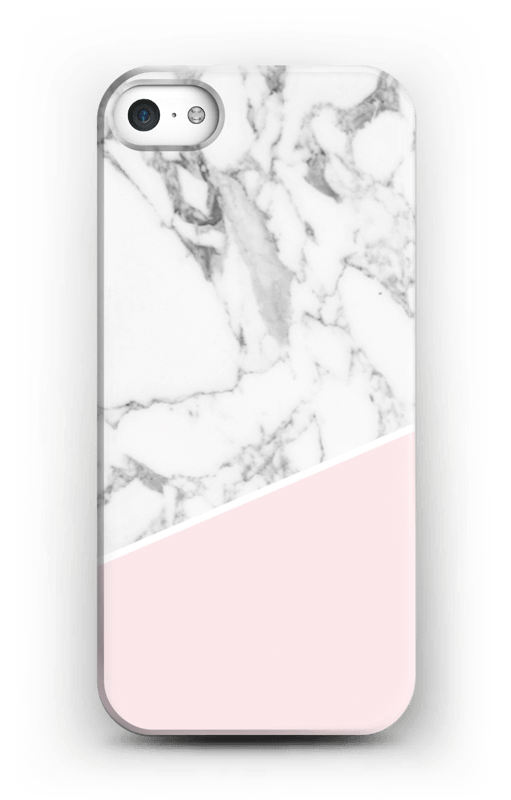 on sale 81287 db278 White Marble and Pink - iPhone 5/5S case