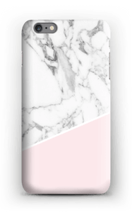 White Marble and Pink case IPhone 6s Plus