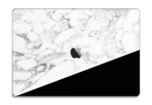 Black and White Skin MacBook Pro Touch Bar 15
