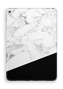 Zwart en Wit marmer Skin IPad Pro 9.7