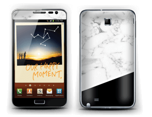 Black and White Skin Galaxy Note