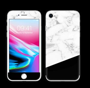 Black and White Skin IPhone 8