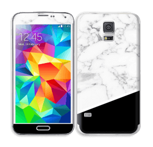 Black and White Skin Galaxy S5