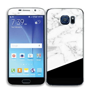 Black and White Skin Galaxy S6