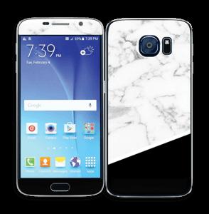Black and White  Skin Galaxy S6