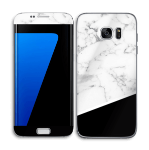 Black and White  Skin Galaxy S7 Edge
