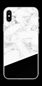 Black and White  Skin IPhone X