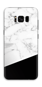 Black and White Skin Galaxy S8