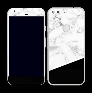 Skin marbre & noir Skin Pixel
