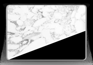 Black and White Skin MacBook Pro 13