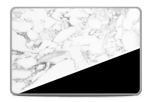 Black and White Skin MacBook Pro 17