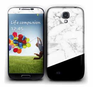 Black and White  Skin Galaxy S4