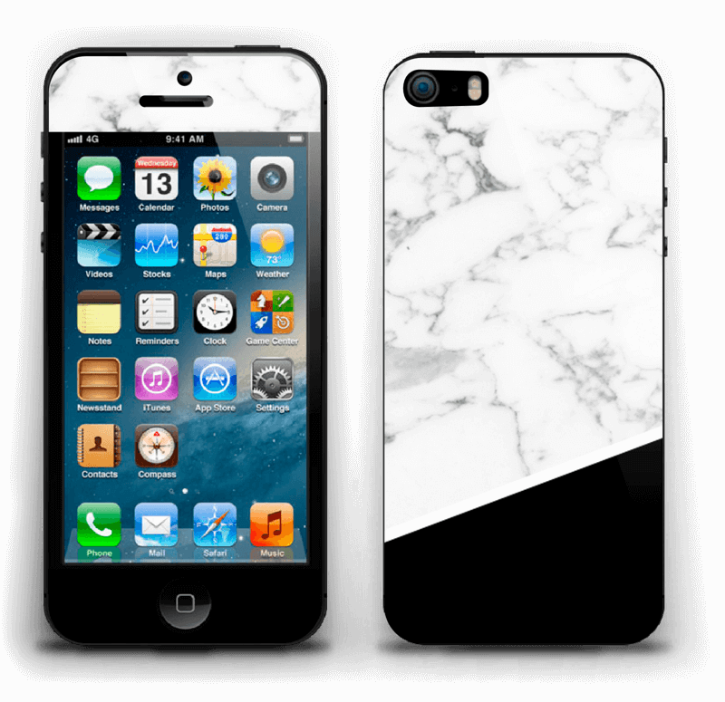 Black and White Skin IPhone 5s