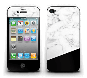 Black and White  Skin IPhone 4/4s