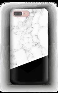 Sort og hvid cover IPhone 7 Plus