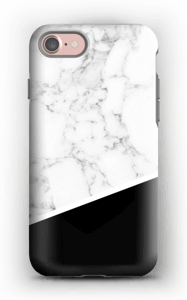Black and White deksel IPhone 7 tough