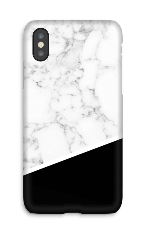 Marble black edge case IPhone X