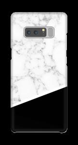 Zwart en Wit Marmer hoesje Galaxy Note8