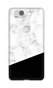 Marble black edge case Pixel 2