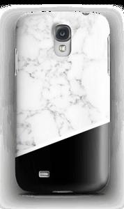 Zwart en Wit Marmer hoesje Galaxy S4