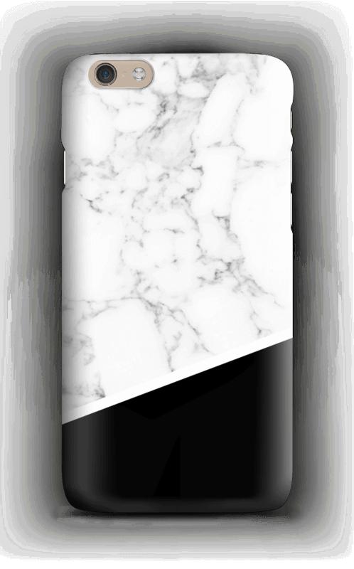 Musta ja valkoinen  kuoret IPhone 6 Plus