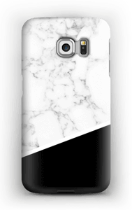 Black and White case Galaxy S6 Edge