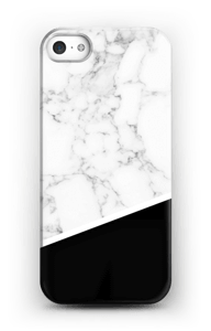 Black and White deksel IPhone SE