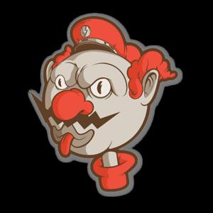 Video Game Villain sticker