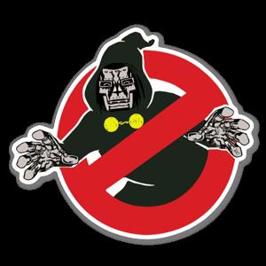 DoomBusters sticker