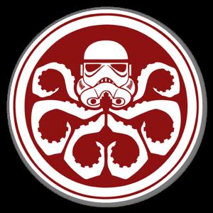 Sticker Hail Vader
