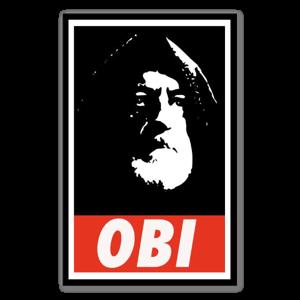 obey wan sticker