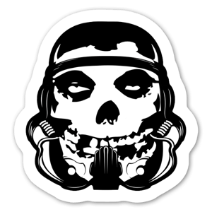 Misfit Trooper sticker