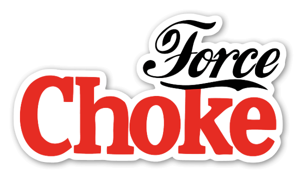 Force Choke Sticker