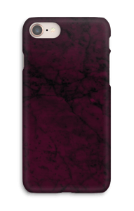 Mármol Burgundy funda IPhone 8