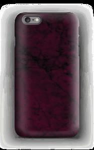 Burgunder marmor deksel IPhone 6 Plus tough