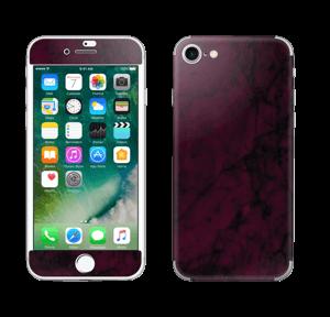 Burgundy marmori tarrakuori IPhone 7