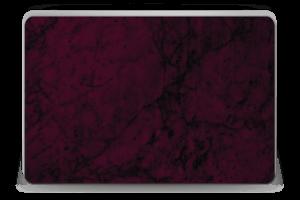 Burgundy marmori tarrakuori Laptop 15.6