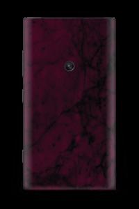 Burgundy marmori tarrakuori Nokia Lumia 920